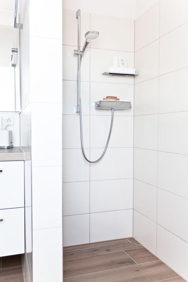 Der über Eck Duschbereich mit schicken