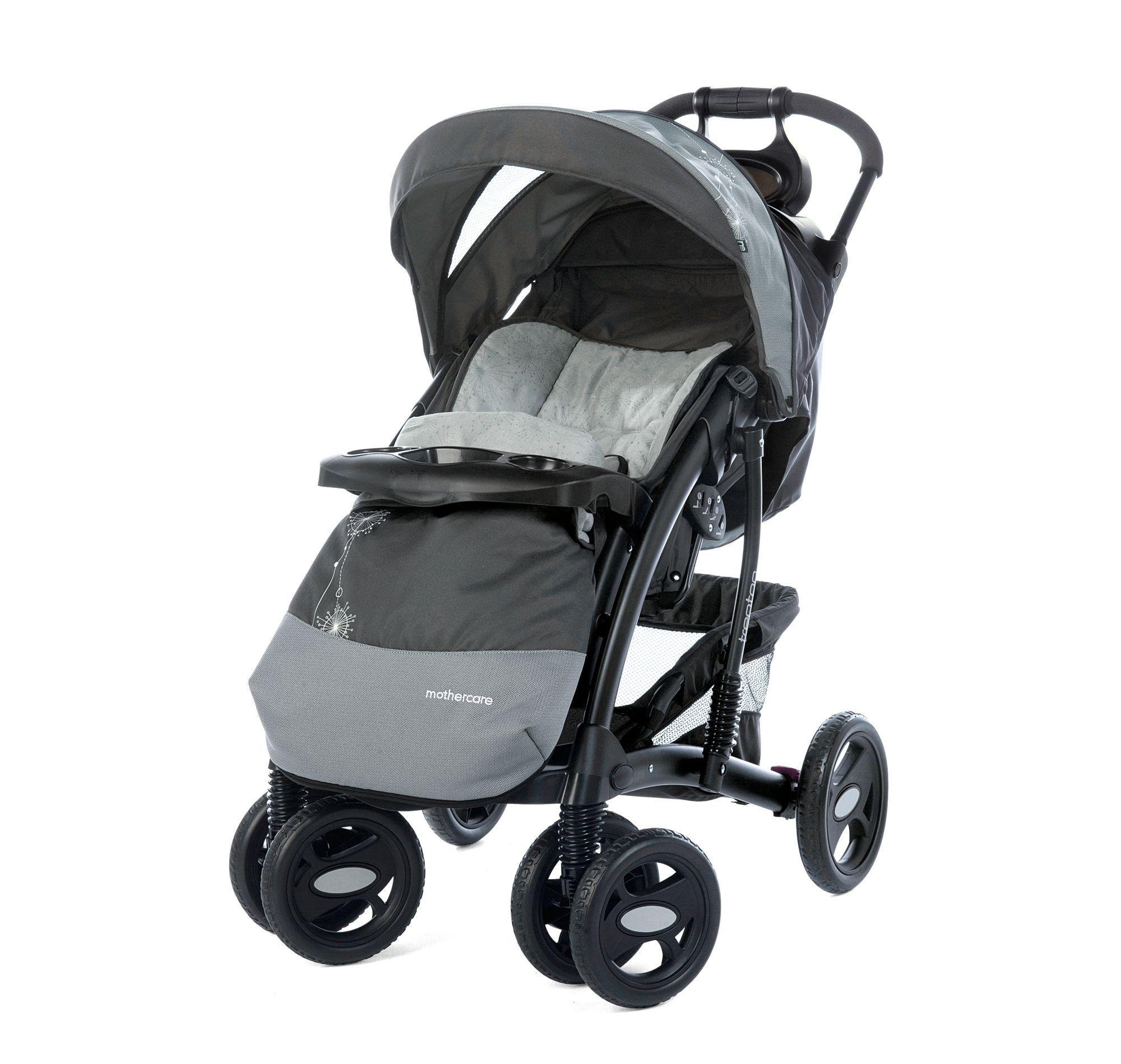 Mothercare Trenton Deluxe plete Pram and Pushchair Travel System Mira