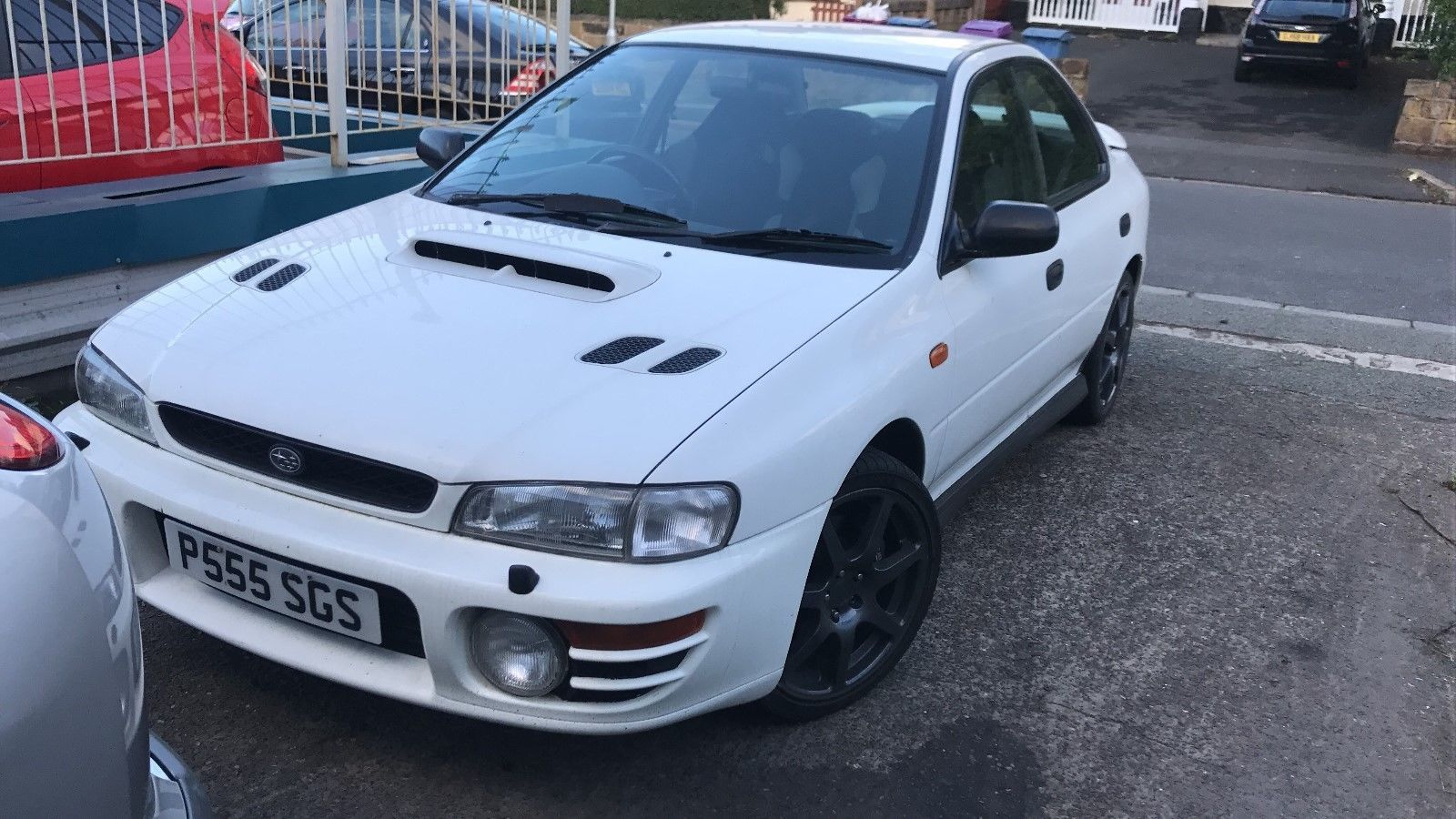 We found this subaru impreza turbo on eBay. | 80s & 90s Turbo Cars