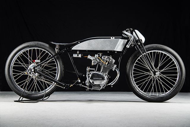 Douglas Board Tracker By Sabotage Motorcycles Posted On May 10 2019 By Scott In Board Tracker Motorcycle Best Car Insurance Flat Track Motorcycle