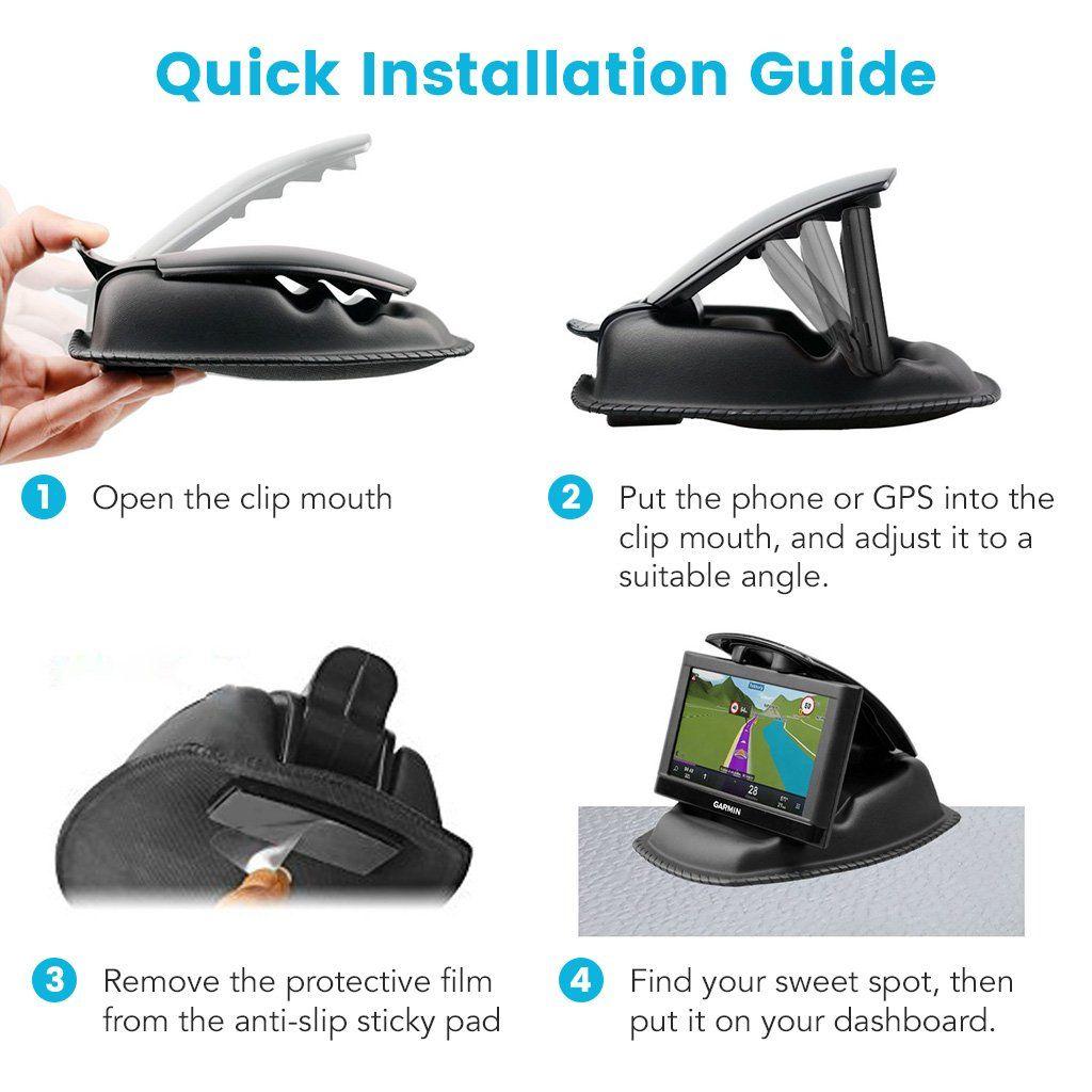 GPS Mount APPS2Car GPS Dashboard Mount NonSlip Beanbag