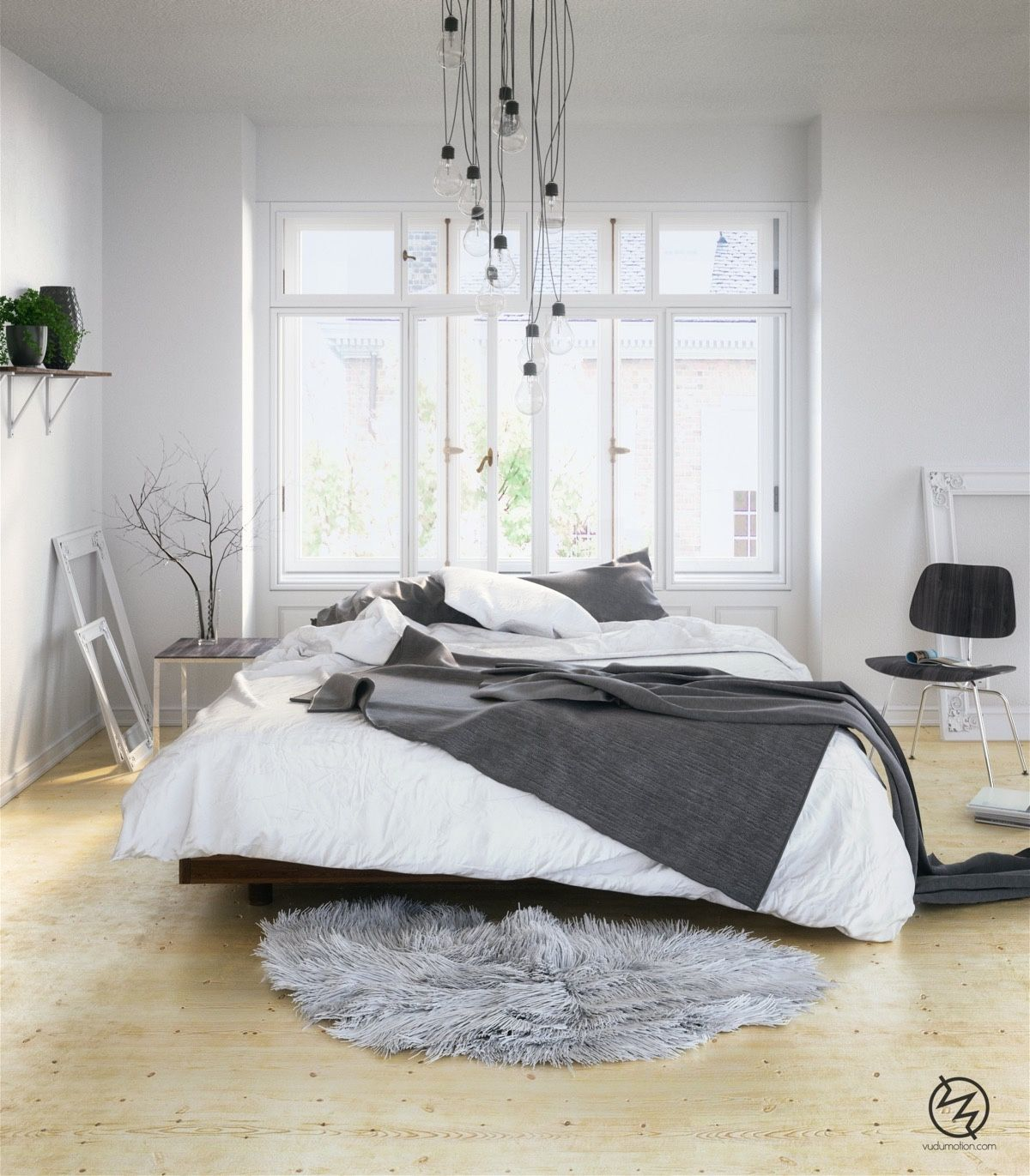 Home Designing — Scandinavian Bedrooms: Ideas And Inspiration ...