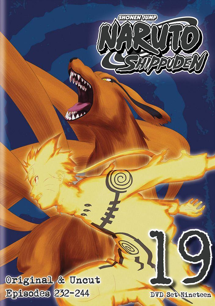 Naruto Shippuden Dvd Set 19 Hyb Uncut Rightstuf2014