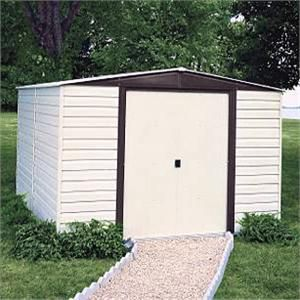 Arrow Vinyl Dallas 10x12 Storage Shed Building A Shed Shed Storage Diy Shed Plans