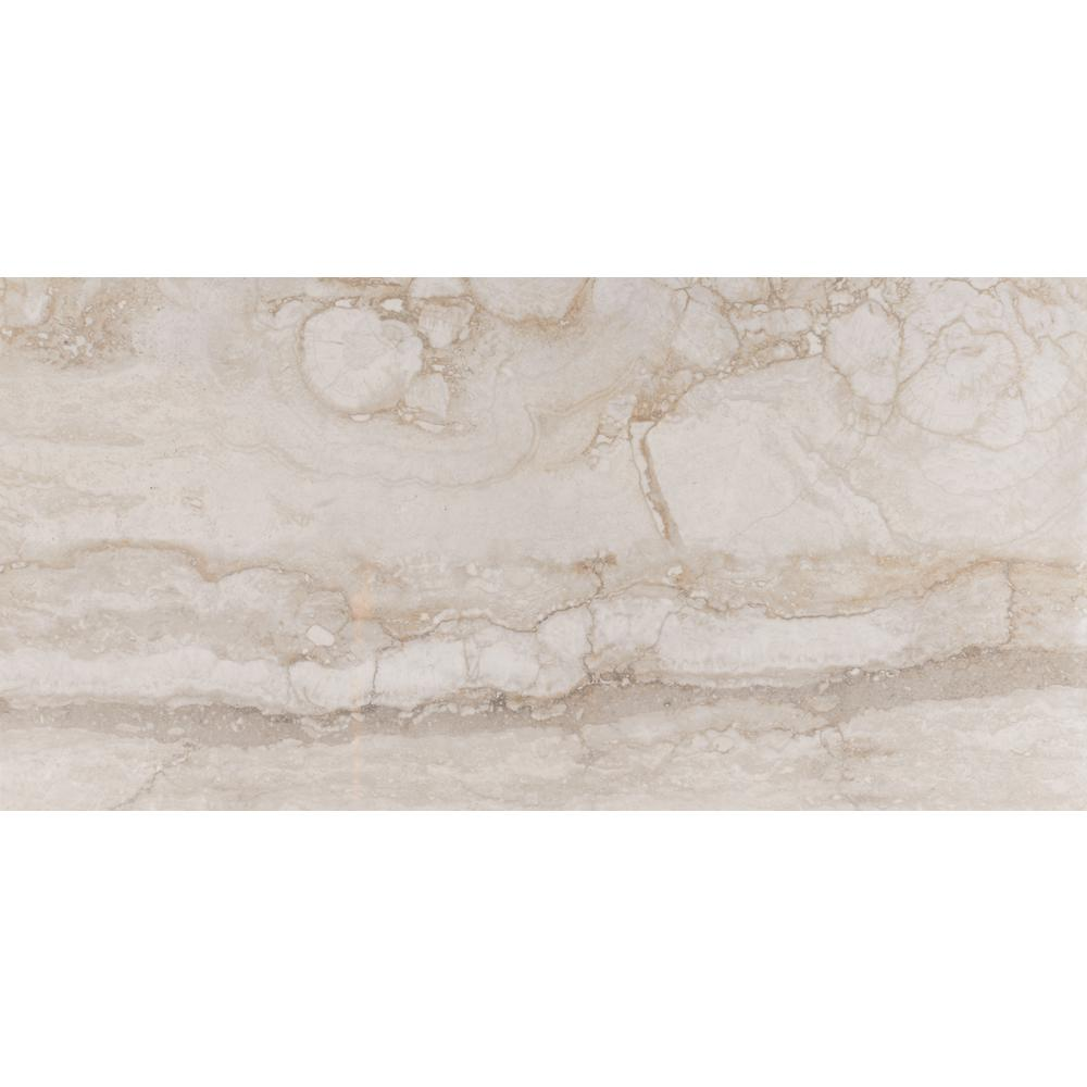 Pietra Bernini Camo 12 In X 24 In Polished Porcelain Floor And Wall Tile 16 Sq Ft Case Wall Tiles Tile Floor Tiles