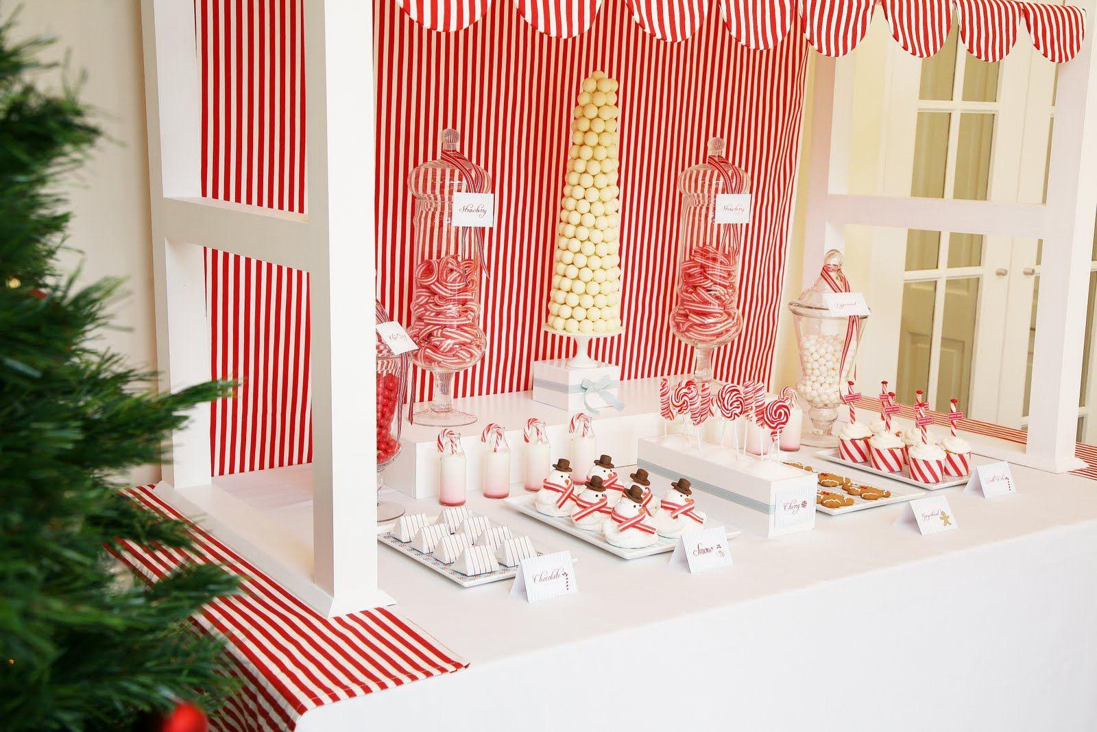 Christmas dessert table decoration ideas - Candyland Dessert Table Ideas