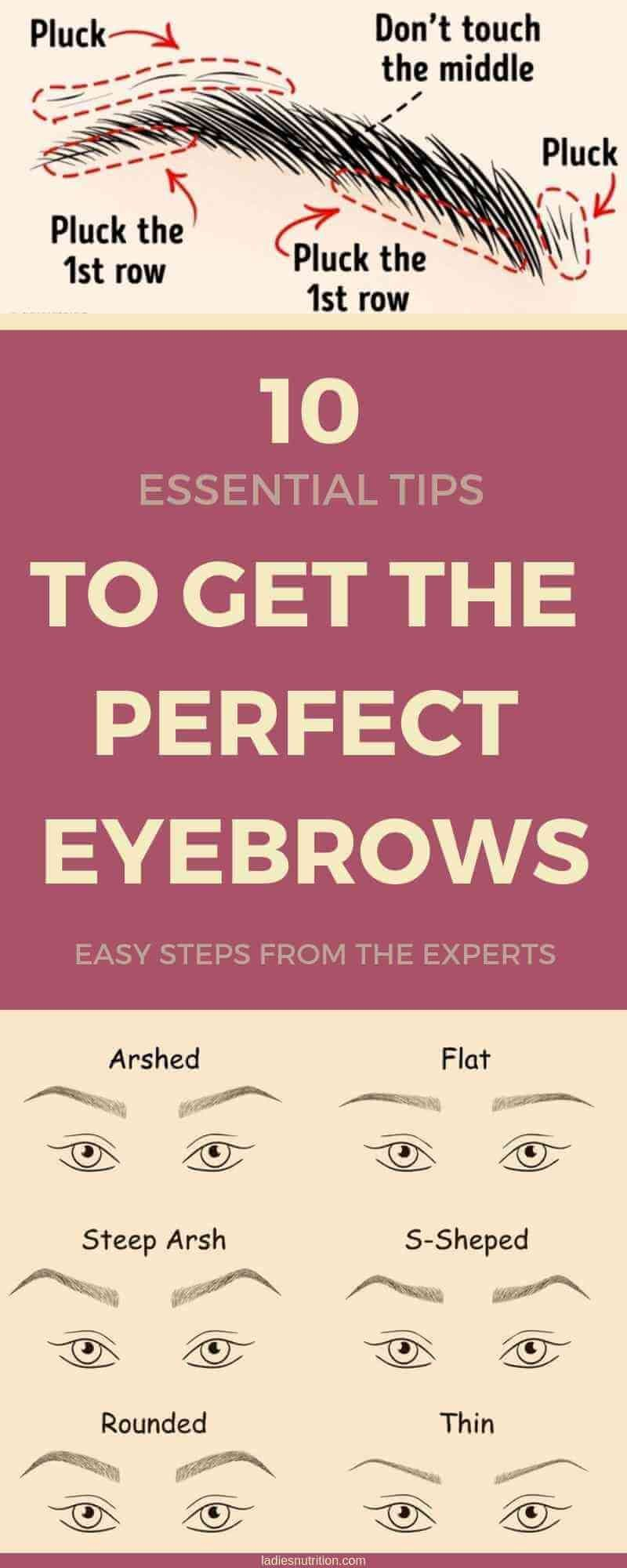Photo of Essential Tips to Get the Perfect Eyebrows #naturaleyebrows