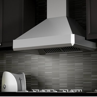 Zline Kitchen And Bath 48 1200 Cfm Ducted Wall Mount Range Hood Wall Mount Range Hood Range Hood Kitchen And Bath