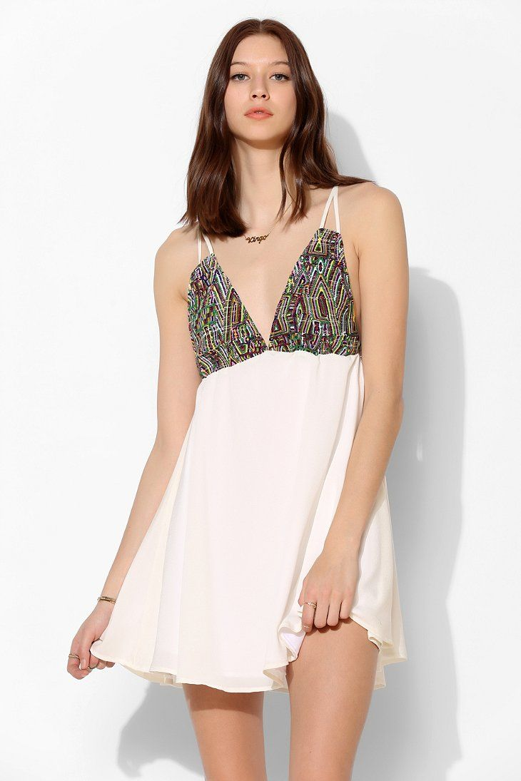 For Love & Lemons San Pedro Mini Dress - Urban Outfitters
