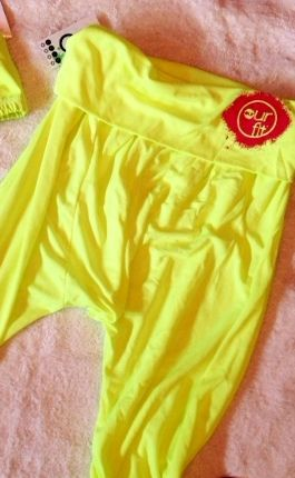 Our Fit Fluro Yellow Harem Genie Pants