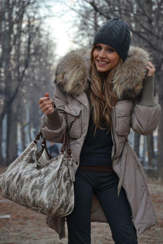 pretty winter parka with my kind of hood … | My StitchFix ...