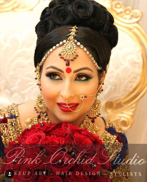 Pin by Marina on wedding hairstyles | Bridal hair, Bridal hairstyle indian wedding, Indian ...