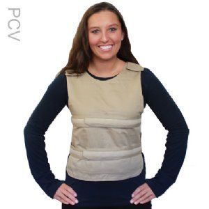 Adjustable One Size Fits Most Poncho Cooling Vest With 4 Long