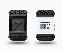 3D printed timepieces by NOOKA + 3D systems