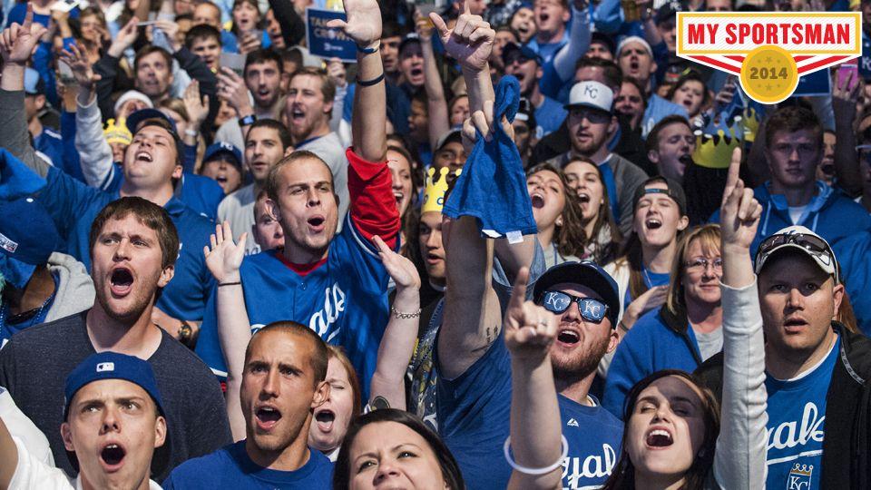 Steve Rushin's 2014 Sportsman nominee Kansas City Royals