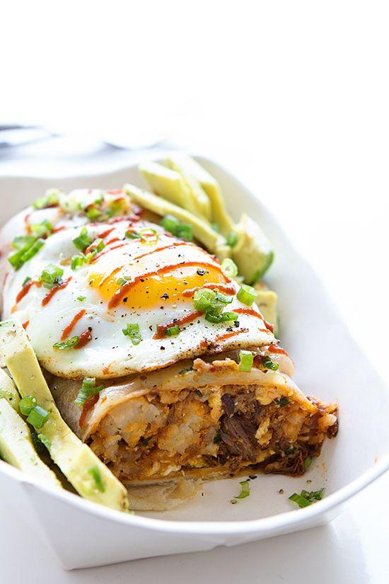 ultimate breakfast burrito recipe breakfast pinterest real