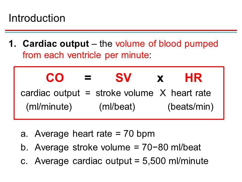 cardiovascualr system stroke volume - Google Search | TEAS