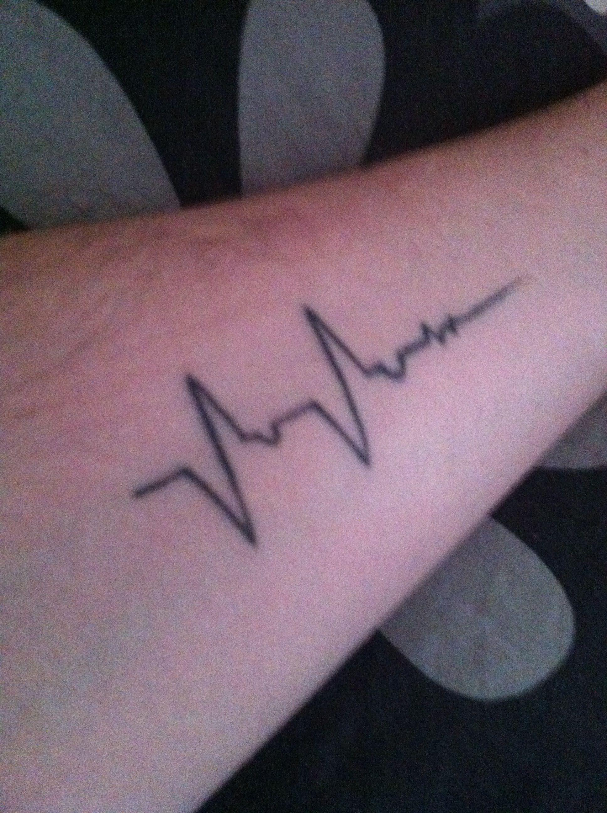 0194b1007 My ECG tattoo | Tattoo | Ecg tattoo, Tattoos, Tattoo quotes