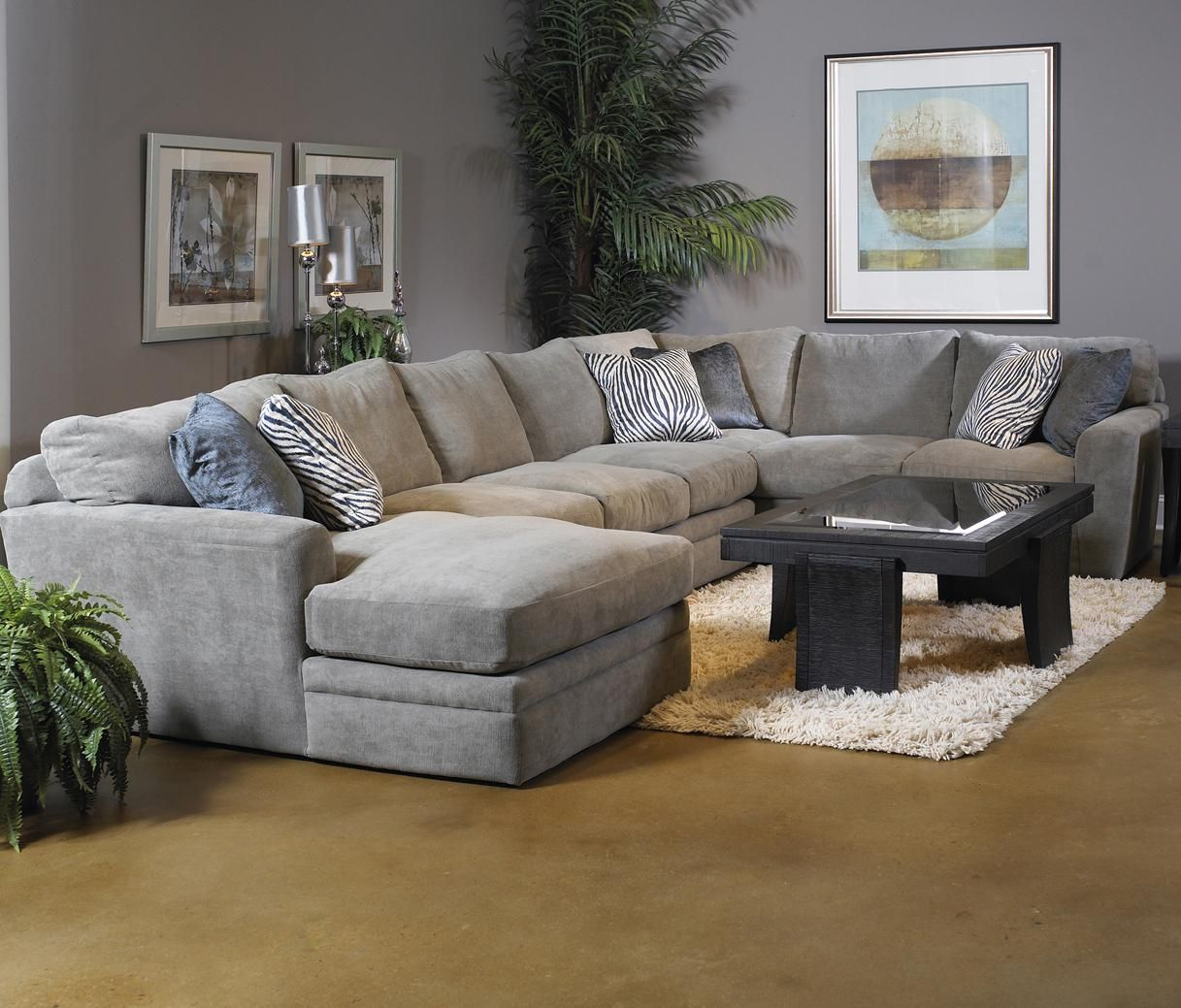 Palms 3 Piece Sofa Sectional By Fairmont Designs At Reeds