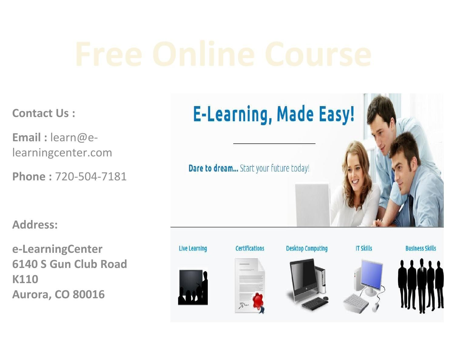 Free online courses certifications online courses learning free online courses certifications 1betcityfo Image collections