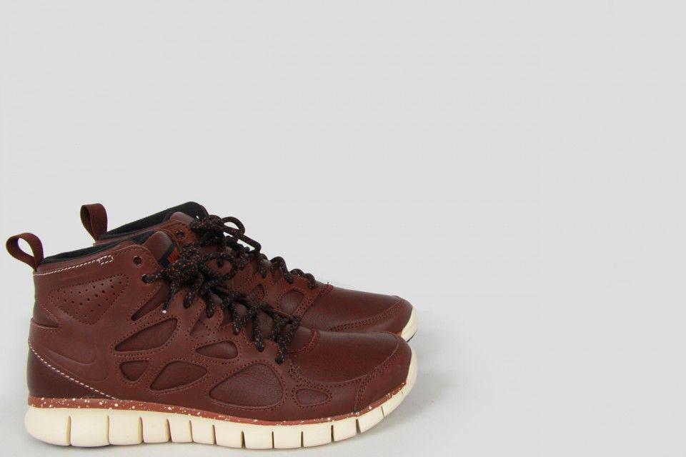 NIKE SPORTSWEAR Free Run 2 SneakerBoot QS Leather Brown