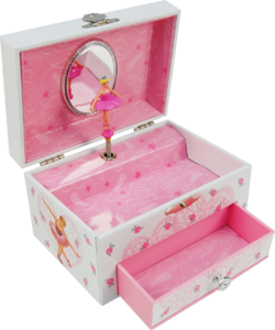 Becca Musical 1 Drawer Jewellery Box with Ballerina Inspired