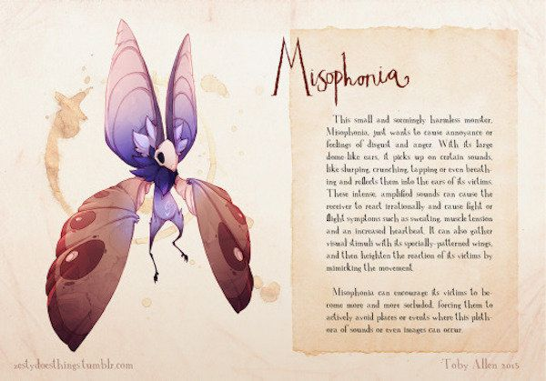 Artist Imagines What Mental Illnesses Would Look Like As Monsters (Photos)