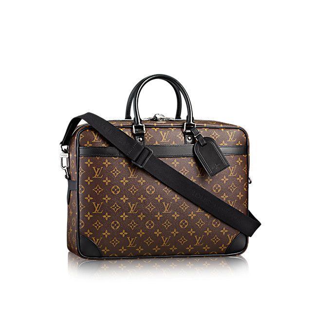 1501528595c9 Porte-Documents Voyage GM - Monogram Macassar Canvas - Men s Bags ...