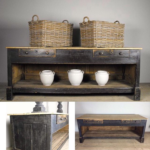A stunning #19thcentury #english shopkeeper's counter now with its new owner. #interiordesign #home #furniture