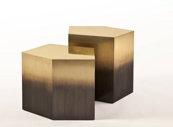 amazing from holly hunt brass bronze ombre side tables modern interior design ideas bespoke furniture design living room ideas