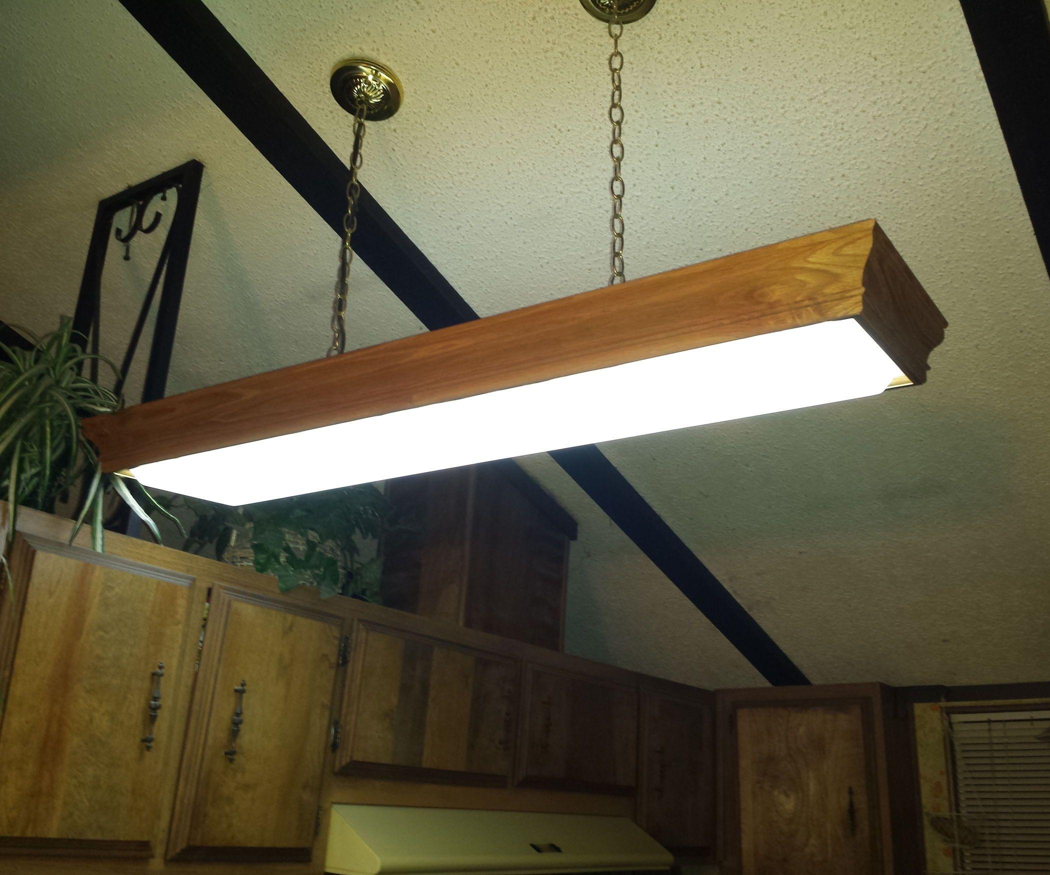 Fluorescent to LED Conversion Under $30 | Diys
