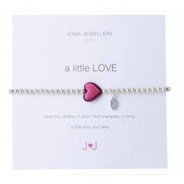 A Little Love Silver Heart Bracelet By Joma dqzVs