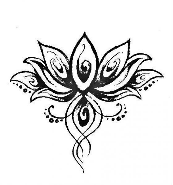 0a44b0a3d lotus flower with a scarab, betta, and ankh tattoo | Apartment Ideas ...