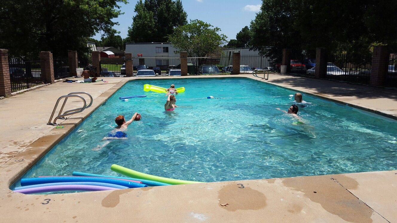 Pin By Van Burkhead On Pool Sapulpa Pool Outdoor