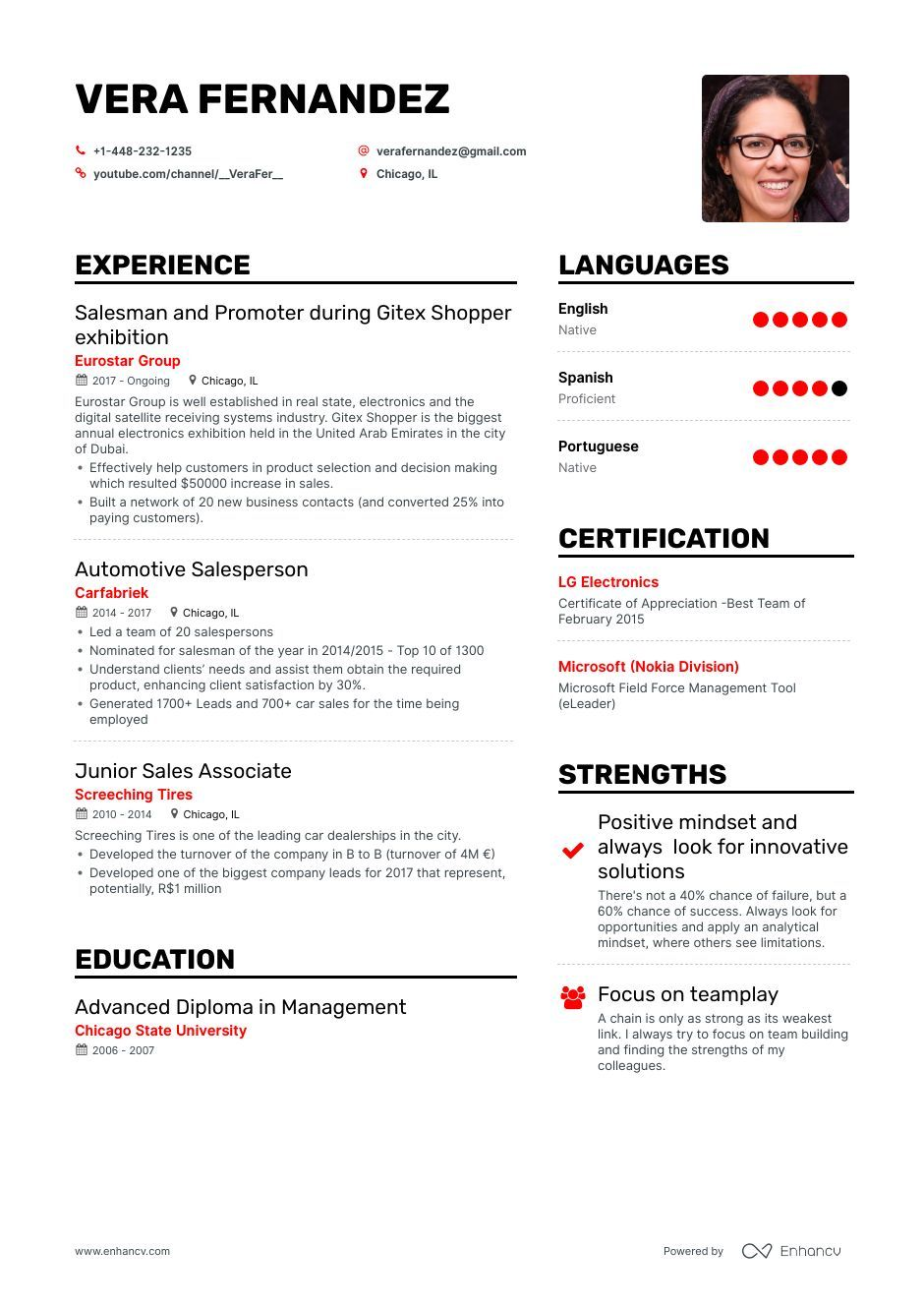 The Best Car Salesman Resume Examples & Skills to Get You