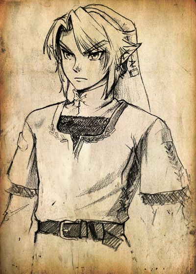 Link The Legend Of Zelda So Want To Try And Draw That Zelda Drawing Legend Of Zelda Legend