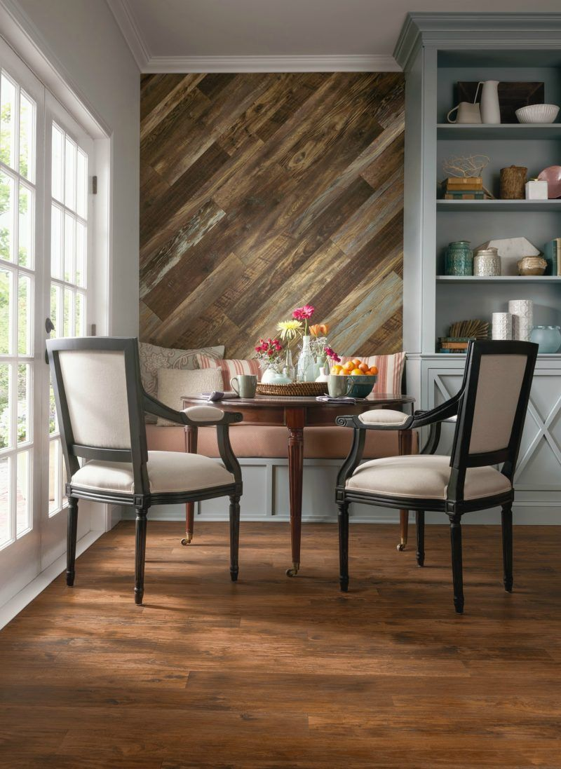 wood feature accent wall ideas using flooring laminate on accent wall ideas id=83964