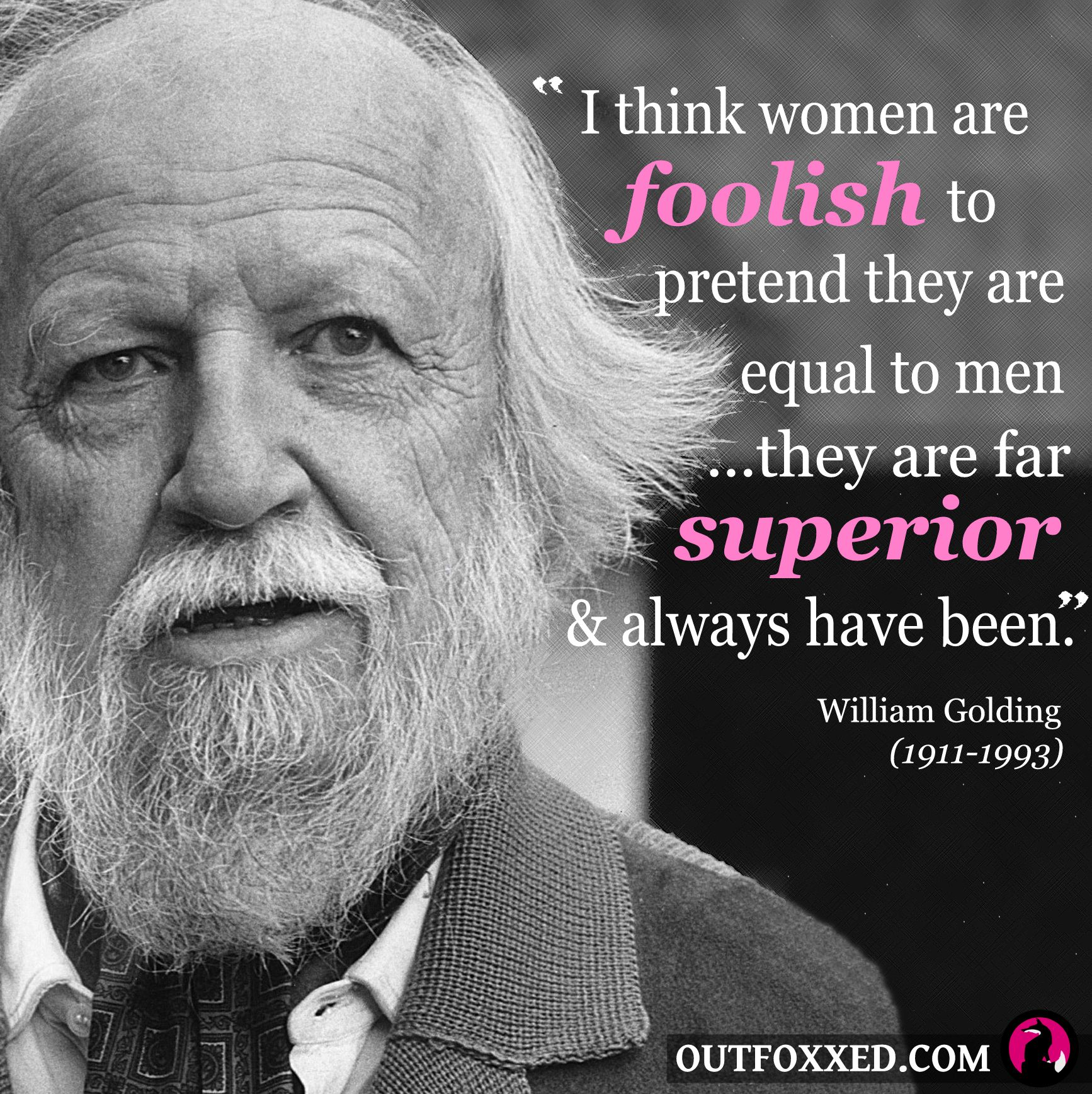 men are superior to women In the next note, maududi informs us that men are not superior to women in a moral way, that is, in honor and excellence,.