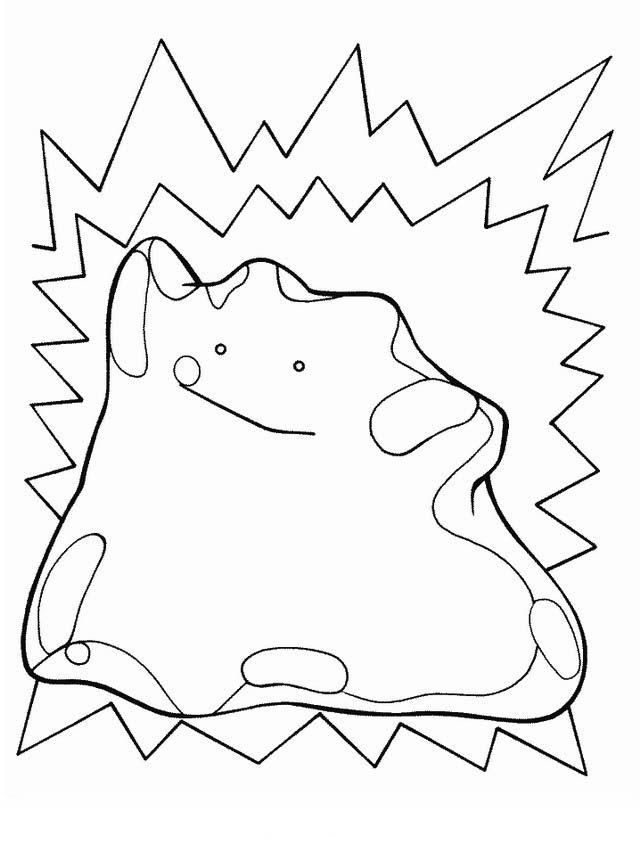 Dibujos para Colorear Pokemon 4 | Dibujos para colorear para niños ...