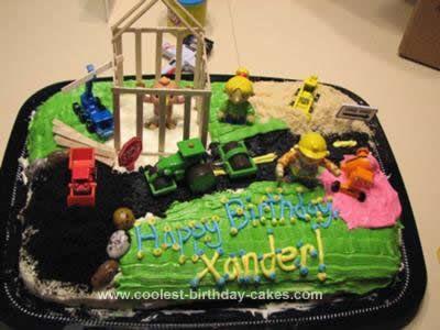 Coolest Bob The Builder Cake Design Cake Ideas For Kids