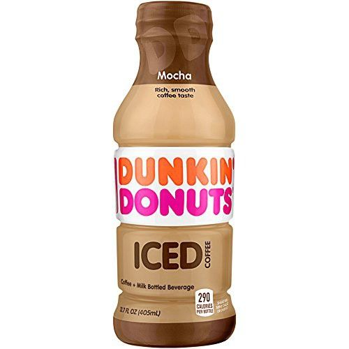 Dunkin' Donuts Mocha Iced Coffee, 13.7 Fl Oz