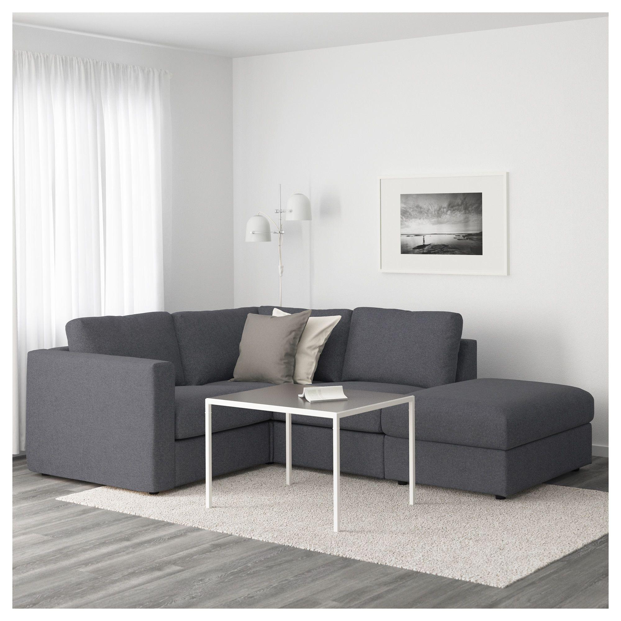 Furniture and Home Furnishings | Decor | Ikea sofa, Ikea vimle sofa ...