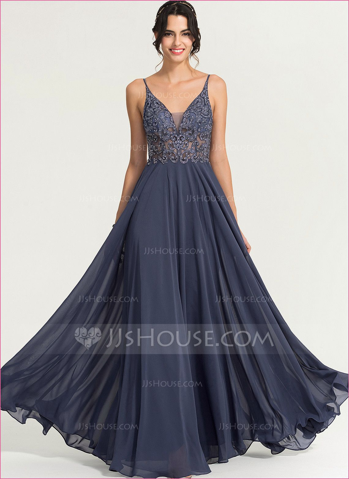Maxi Kleider Hochzeit in 16  Abendkleid, Chiffon abendkleider