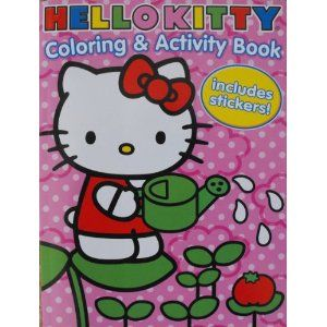 Hello Kitty Coloring And Activity Book With 30 Stickers 144 Pages Toy Postteenageliving Com Amazon Ph Hello Kitty Coloring Cat Coloring Book Coloring Books