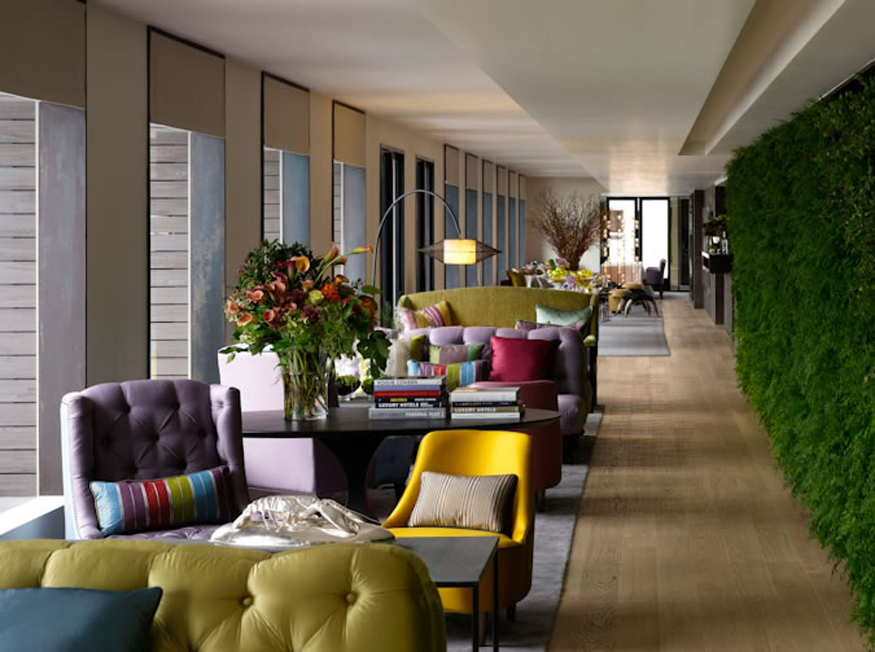 bright colors hotel lobby lounge - google search | ri waters