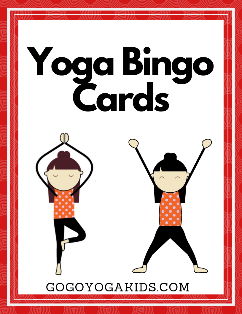 Kids Yoga Pose Bingo Cards Yoga For Kids Kids Yoga Poses Kids Yoga Poses Printable