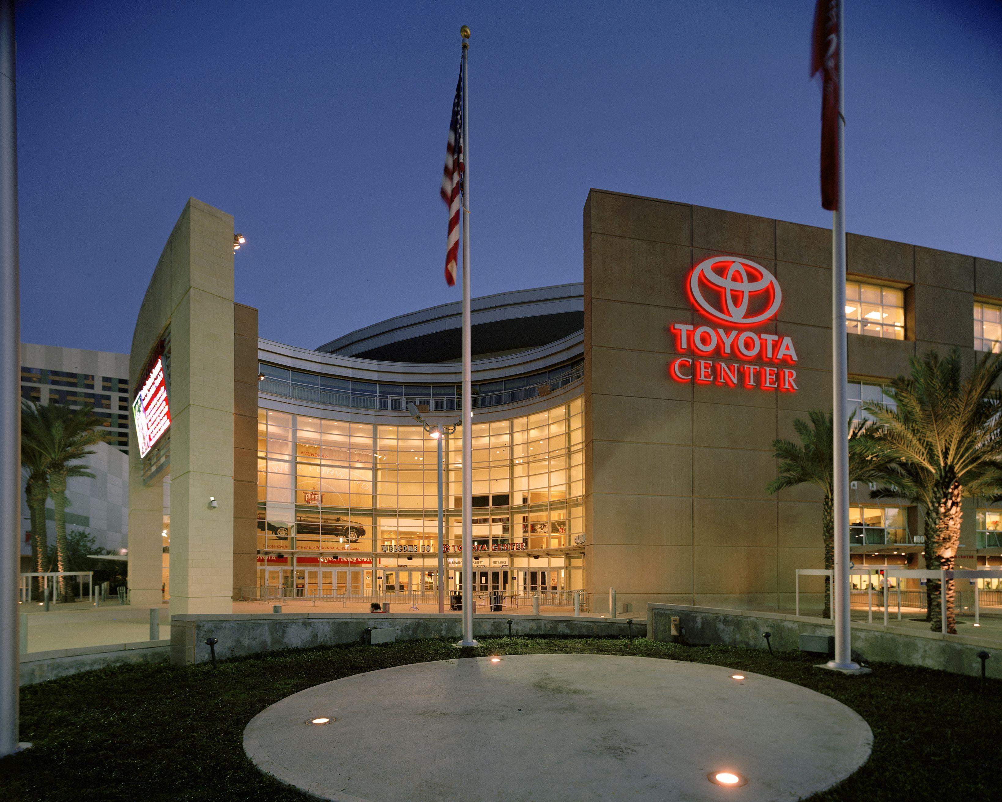 Toyota Center! Toyota center, Downtown houston, Stadium tour