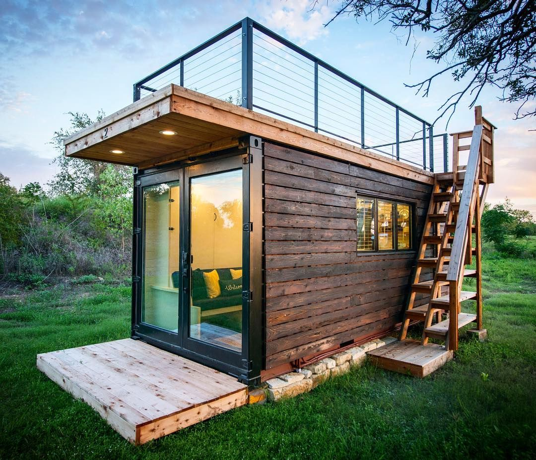 Cargohome Tiny Houses On Instagram Our Anchor Model Clad In