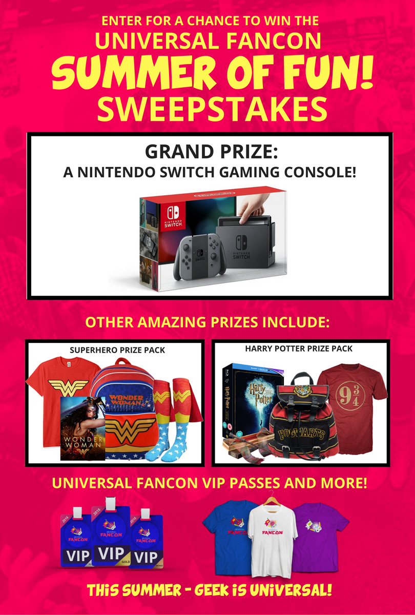 Enter for a chance to win a Nintendo Switch and more    contests