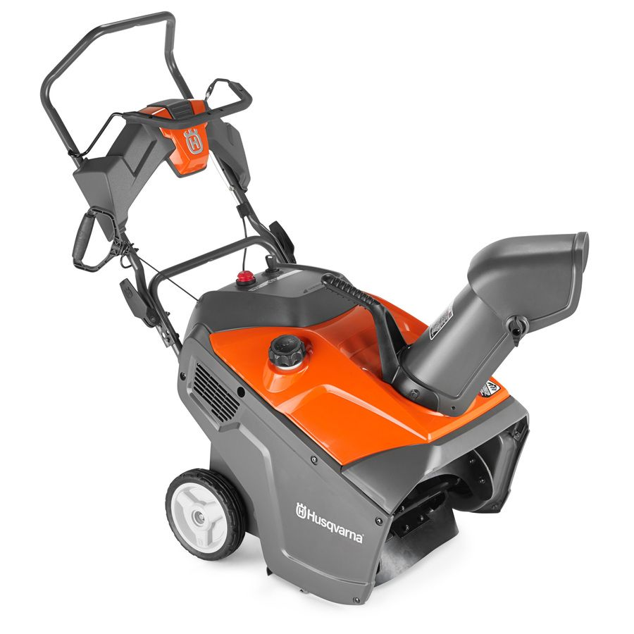 shop husqvarna 100 series 208cc 21 in single stage on lowes paint sale today id=17472